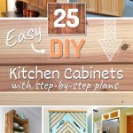 25 Easy Diy Kitchen Cabinets With Free Step By Step Plans