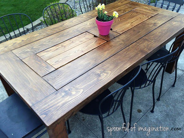 38 easy diy patio tables you can build