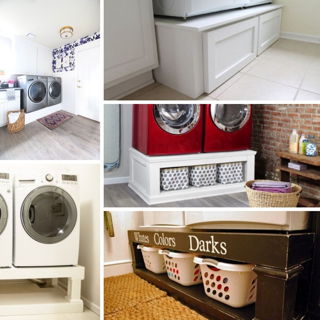 8 Diy Washer Dryer Pedestal Ideas You Need In Your Laundry