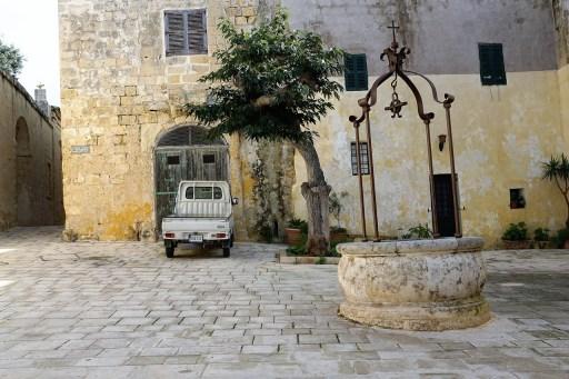 Malta Mdina Middelalderby middelalder