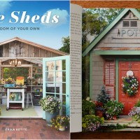 Potting Shed Featured in She Sheds: A Room of Your Own and Giveaway!
