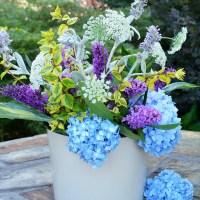 Flower Therapy: Easy Garden Flower Arrangement and Method