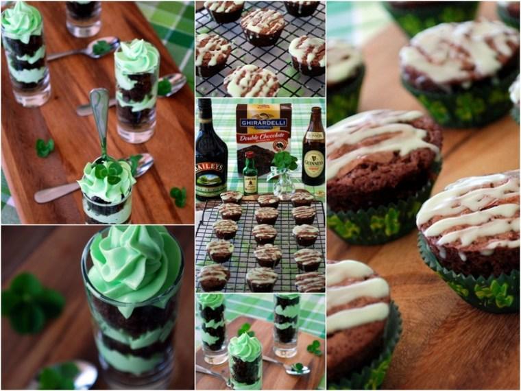 Irish Brownie Bites and When Brownies Bomb | ©homeiswheretheboatis.net #stpatricksday #irish #dessert