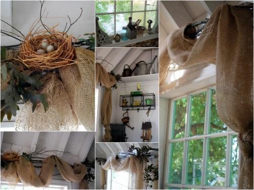 windows potting shed