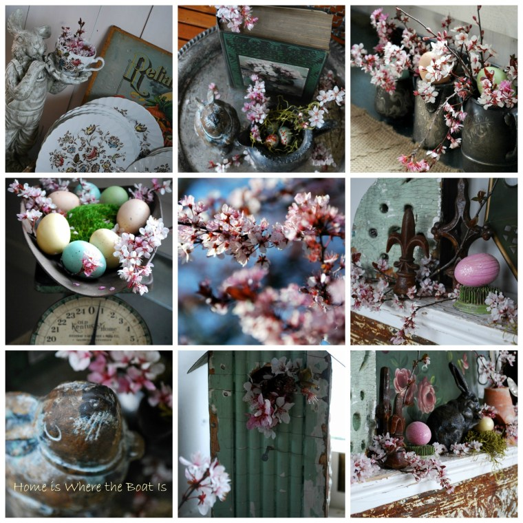 Plum Blooms Potting Shed Coll