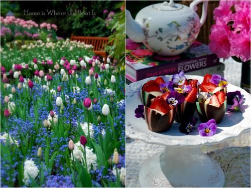 Butchart Garden Tea