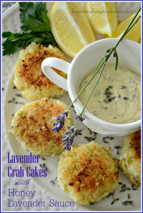 Lavender Crab Cakes