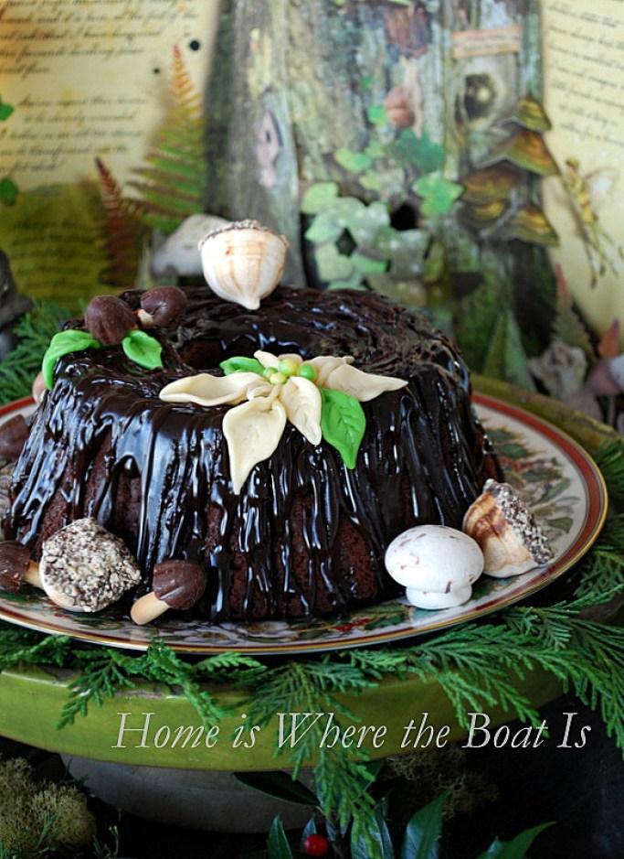 Stump de Noel Fairy Cake