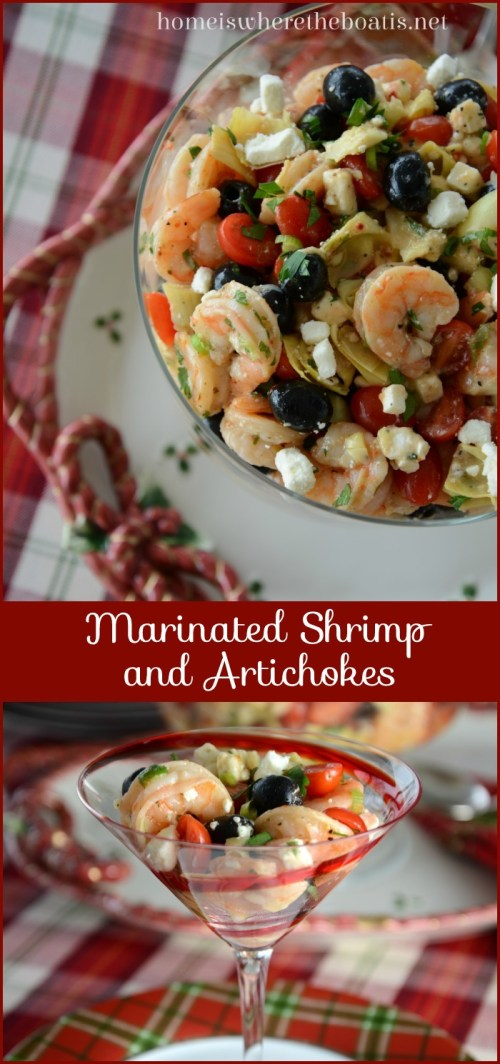 Marinated Shrimp & Artichokes