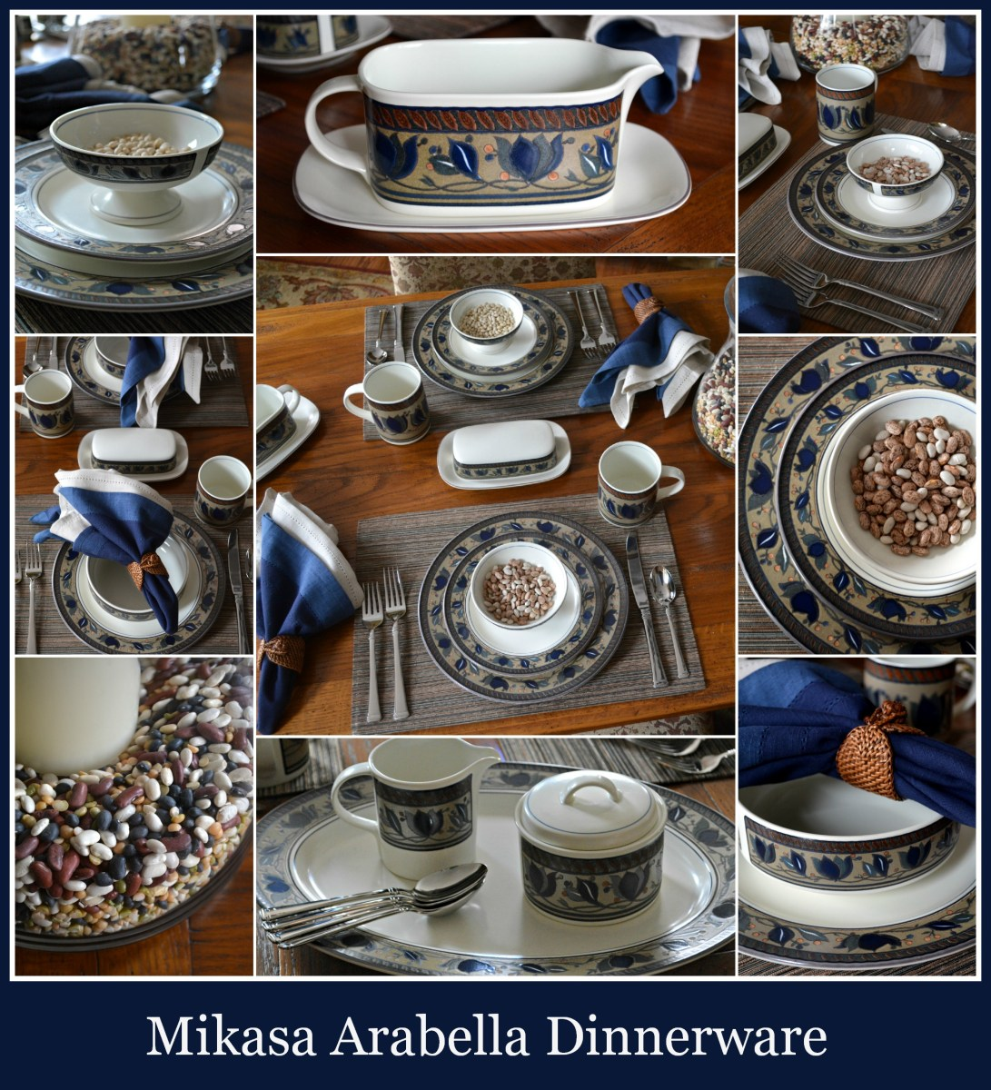 At The Table Mikasa Arabella Home Is Where The Boat Is