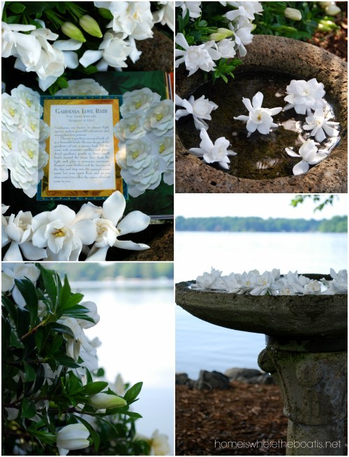 Gardenia Love Bath