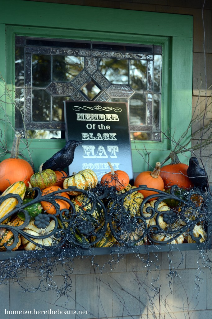 Member Black Hat Society | ©homeiswheretheboatis.net #halloween #pottingshed