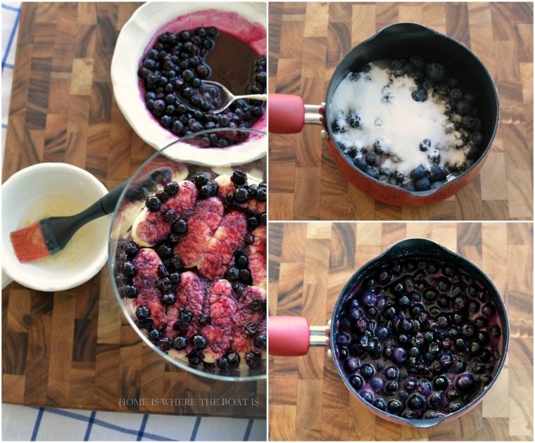 Blueberry Lemon Tiramisu