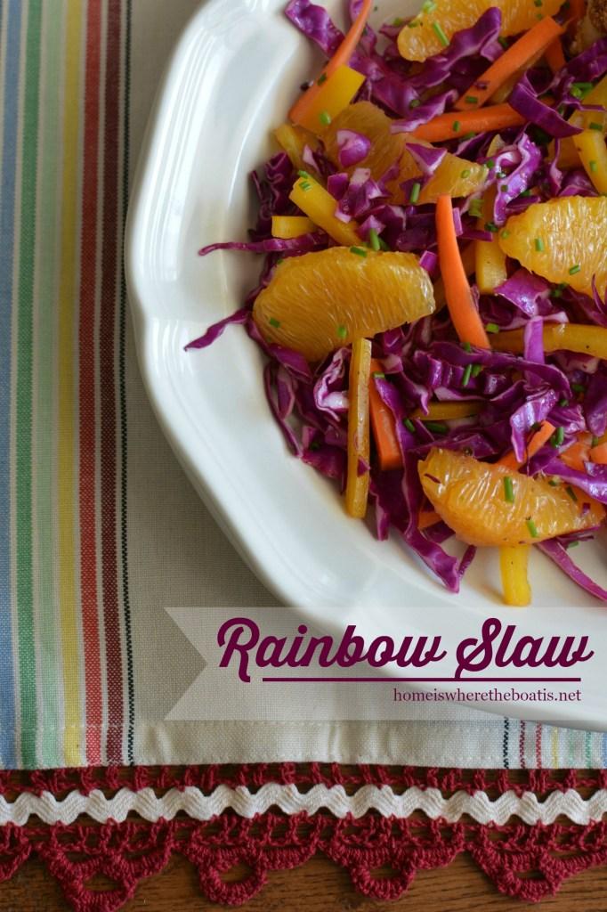 Rainbow Slaw