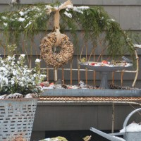 Feeding Our Feathered Friends: Bird Seed Wreath DIY