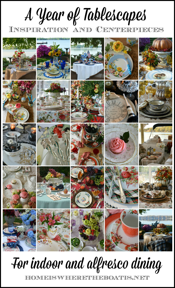 A Year of Tablescapes 2015