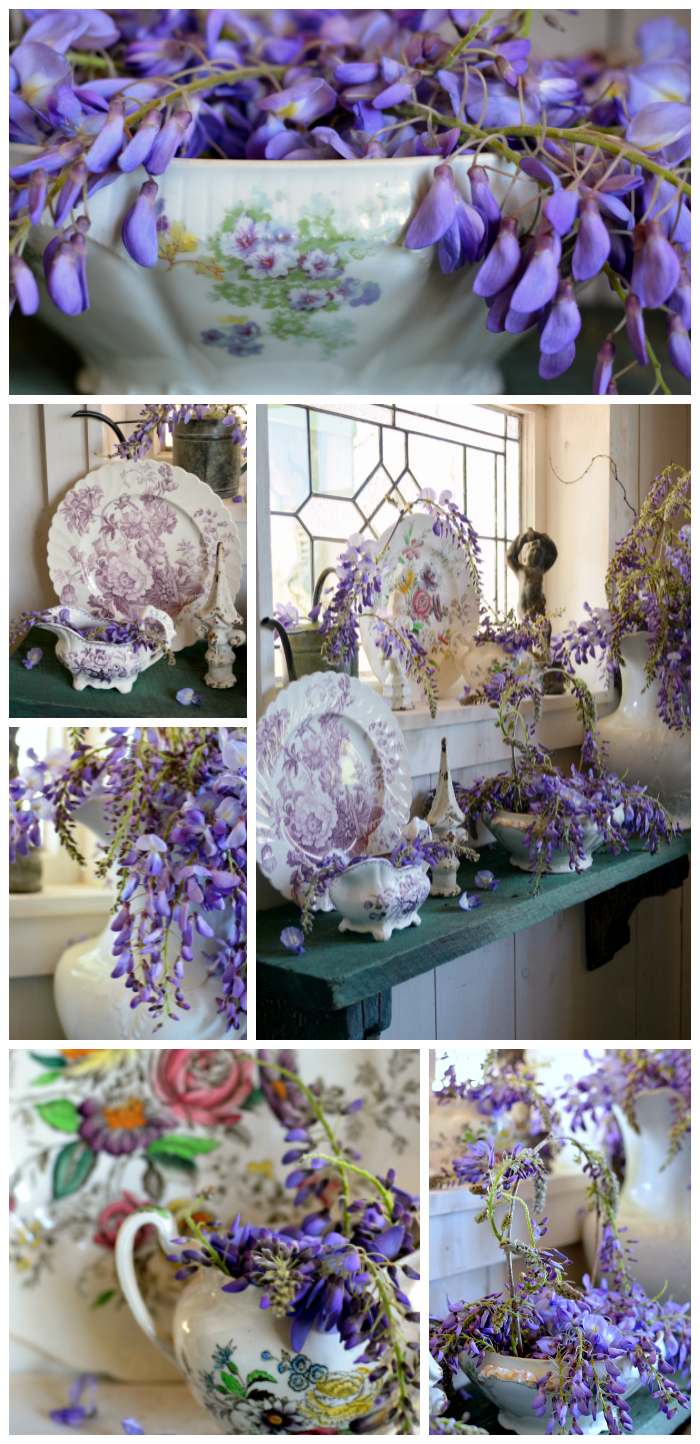 Wisteria and Purple Transferware