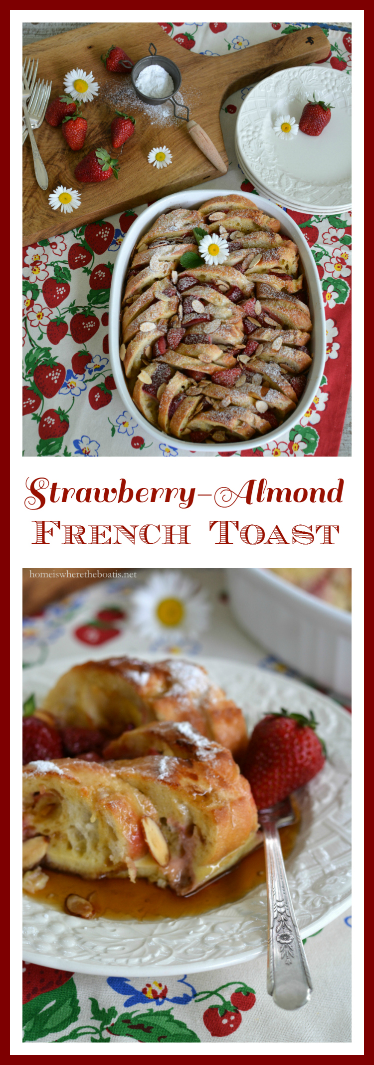 Strawberry-Almond French Toast