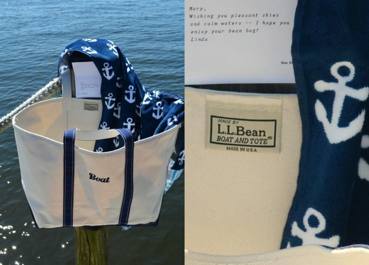 Boat and Tote Bean Bag