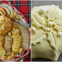 Eat, Drink and Be Merry: Puff Pastry Baked Brie with Cranberries
