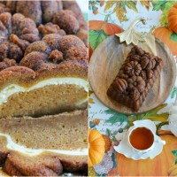 A Fall Treat for Your Taste Buds: Pumpkin Loaf with Cream Cheese Swirl
