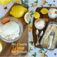 Lemon Lovers No-Churn Ice Cream