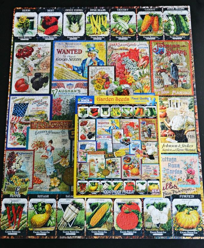 Garden seeds puzzle | ©homeiswheretheboatis.net