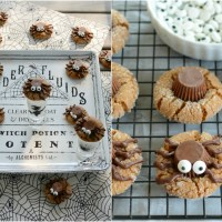 More Stares than Scares: Peanut Butter Spider Halloween Cookies