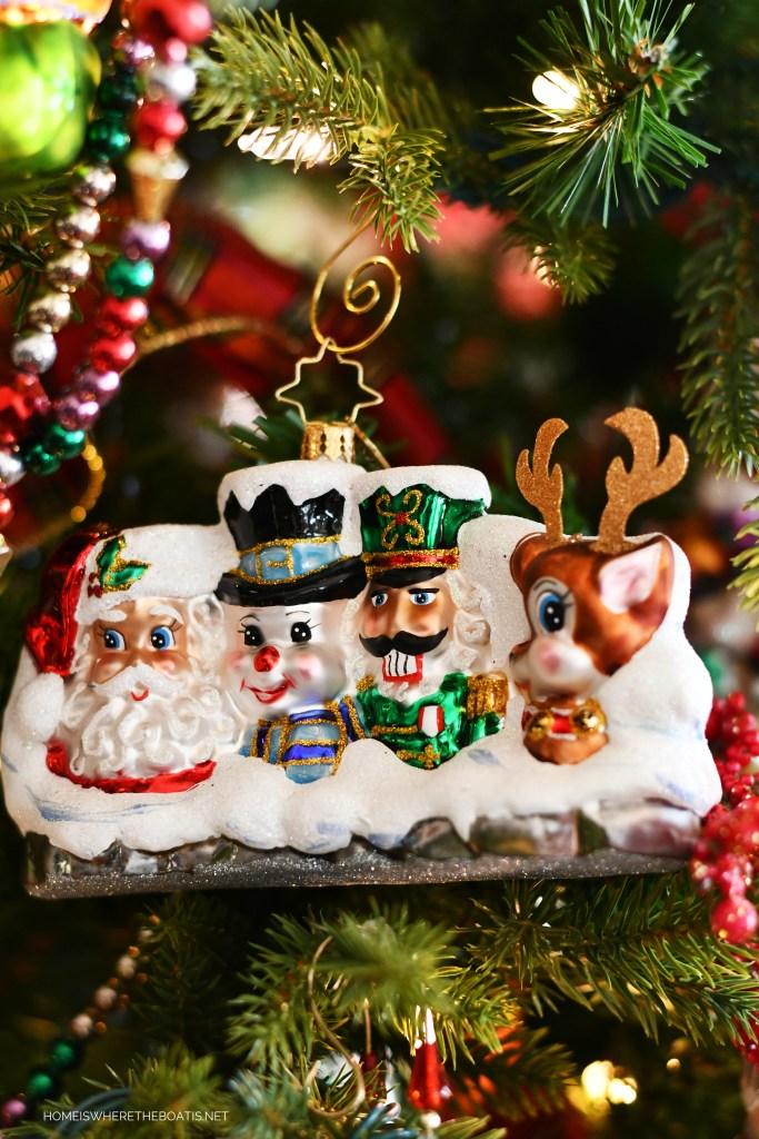 Radko Christmas Ornament | ©homeiswheretheboatis.net #Christmas #tree