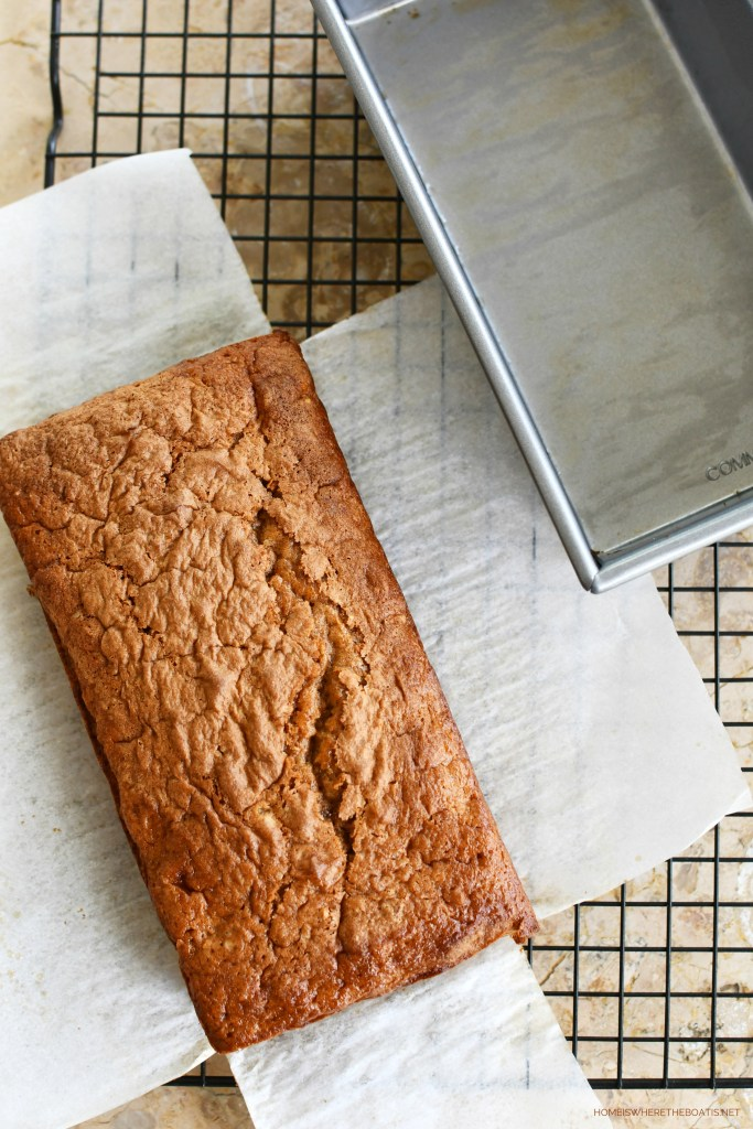Line your pan with parchment paper for easy removal! | ©homeiswheretheboatis.net