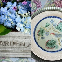 In Praise of Endless Summer Hydrangeas: Garden Flower Arrangement + Table