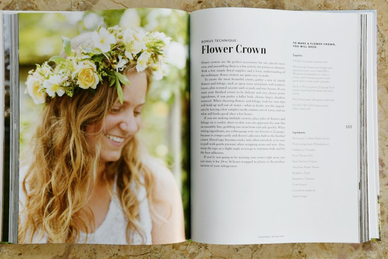 How to Make a Flower Crown, Floret Farm's A Year in Flowers