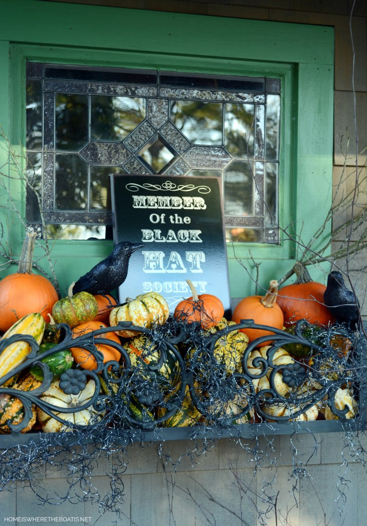 Member Black Hat Society | ©homeiswheretheboatis.net #halloween #pottingshed