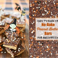 Easy to Scare Up: No-Bake Peanut Butter Bars