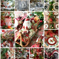 'Tis the Season: Christmas Table and Centerpiece Inspiration Round Up!