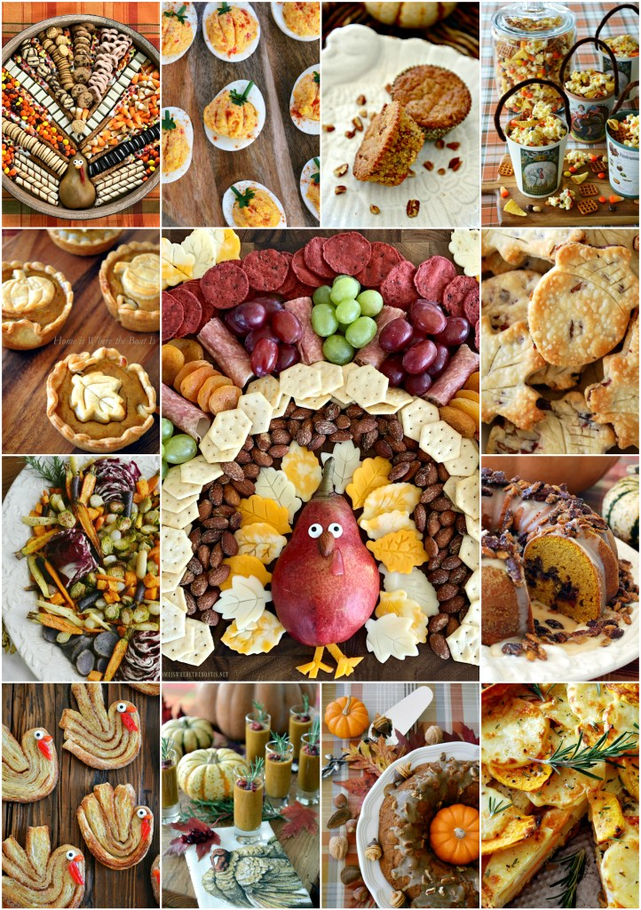 20+ Thanksgiving Recipes You'll Want to Gobble! | ©homeiswheretheboatis.net #Thanksgiving #recipes #desserts #appetizers #sides #cocktail #brunch