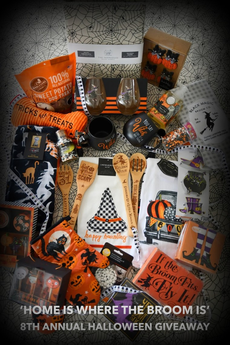 'Home is Where the Broom Is' 8th Annual Halloween Giveaway | ©homeiswheretheboatis.net