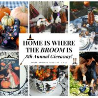 'Home is Where the Broom Is' 8th Annual Halloween Giveaway