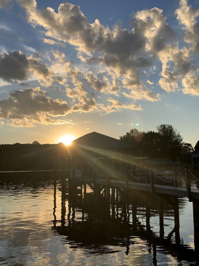 Weekend Waterview Lake Norman | ©homeiswheretheboatis.net #LKN #dock