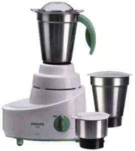 Philips HL1606/03 500 W Mixer Grinder (Green, 3 Jars)