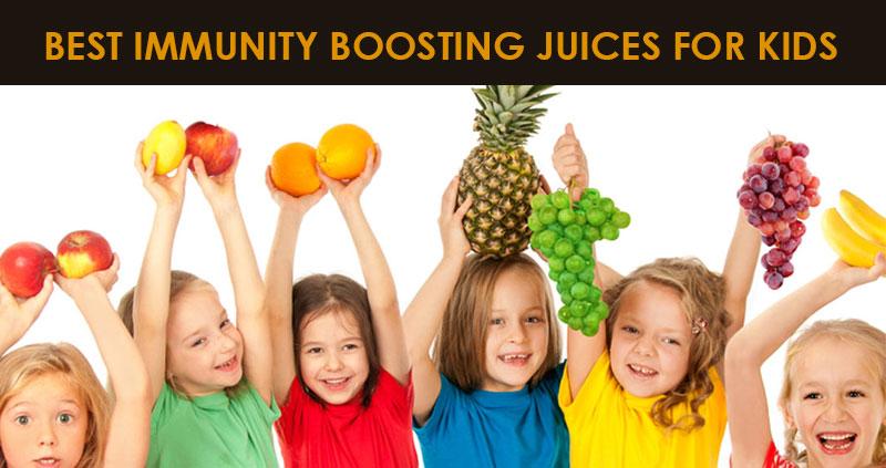 Best immutiy boosting juices for kids