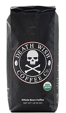 Death Wish Organic Whole Bean Coffee