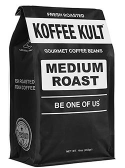 Koffee Kult Medium Roast Coffee Beans