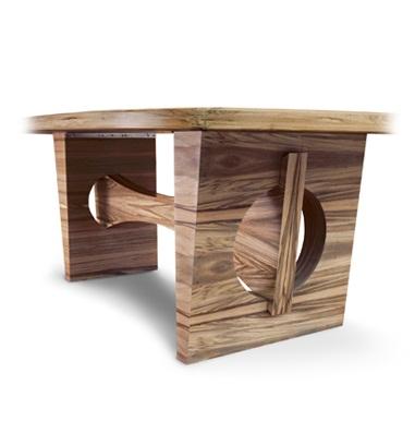 Aluminum , dining table , Pilot Design , wood