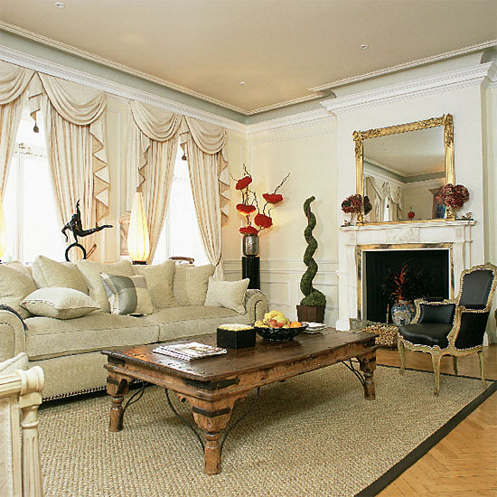 9 white traditional living room ideas 2011 Neutral traditional living room  White traditional living room ideas 2011