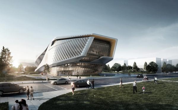 2 dalian museum competition design concept Dalian Museum Competition Design Concept