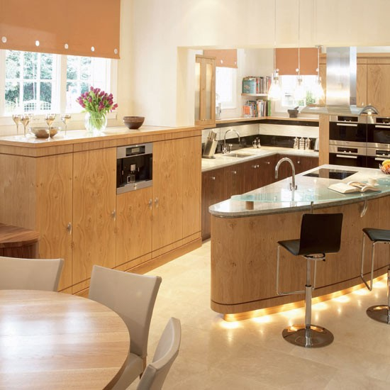 2 open plan kitchen diners Open plan Kitchen Diners