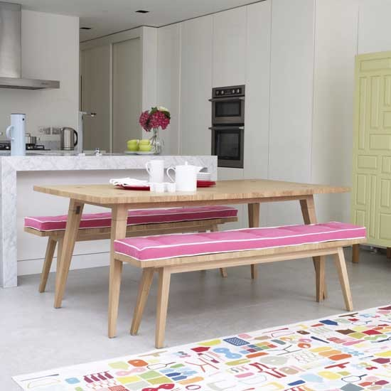 7 open plan kitchen diners Colourful kitchen diner Open plan Kitchen Diners