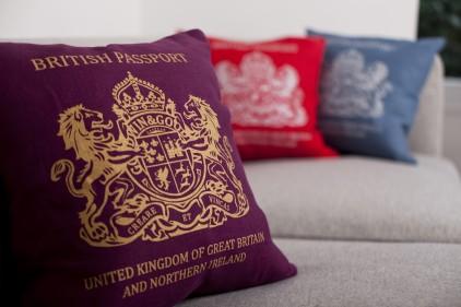 1 passport cushion by bouf Passport Cushion by Bouf