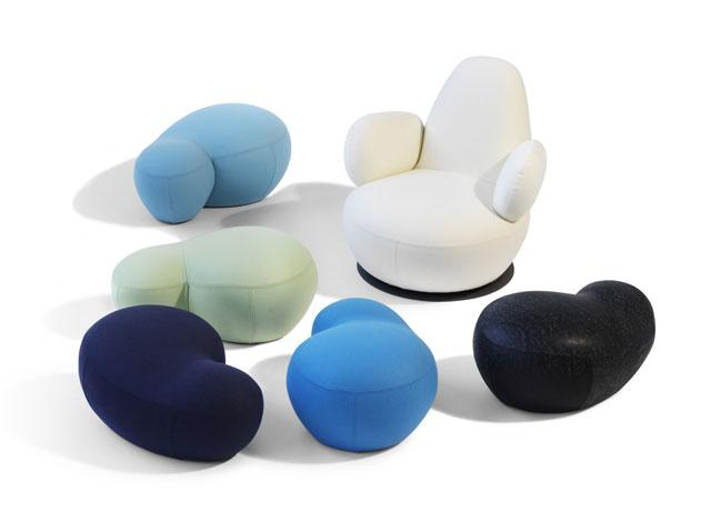 6 soft chairs by borselius design Soft Chairs by Borselius Design